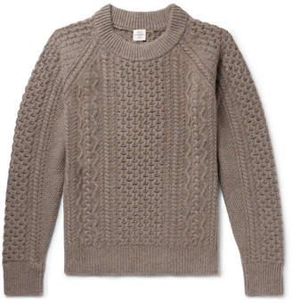 Kent & Curwen Ladock Mélange Camel Hair Sweater