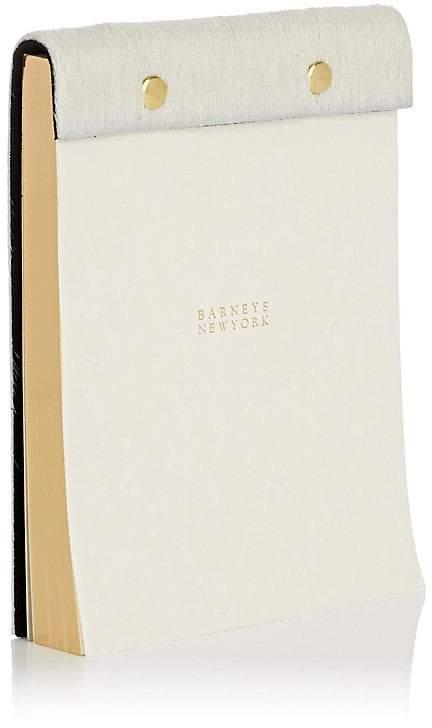 Haircalf-Bound Notepad
