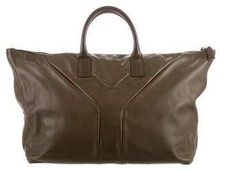 Saint Laurent Leather Weekender