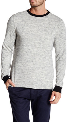 Micros Long Sleeve Knit Fleece Pullover $46.50 thestylecure.com