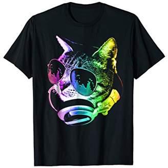 Funny - Rainbow Music DJ Cat