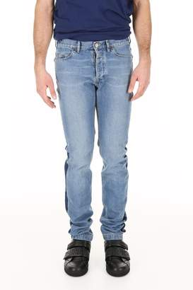 Lanvin Slim Jeans With Side Bands