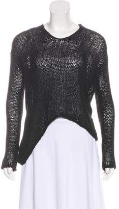 Helmut Lang Long Sleeve Asymmetrical Sweater
