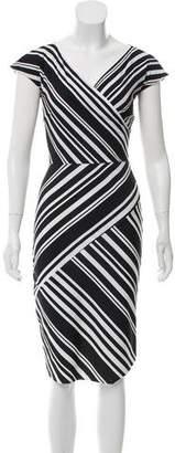 Chiara Boni Printed Midi Dress w/ Tags