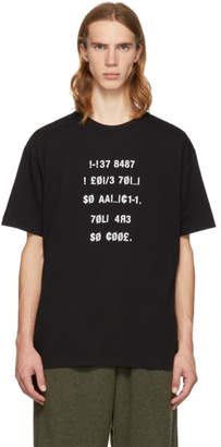 Diet Butcher Slim Skin Black Two-Face T-Shirt
