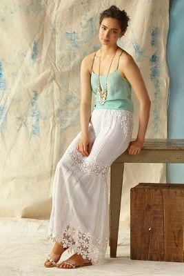 Yoana Baraschi Lace Melange Maxi Skirt