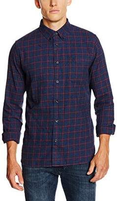 Crew Clothing Men's Naseby Long Sleeve Slim Fit Casual Shirt