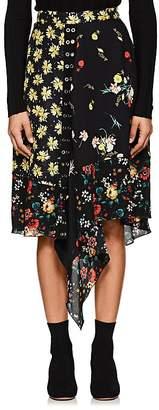 Derek Lam Women's Floral Silk Skirt