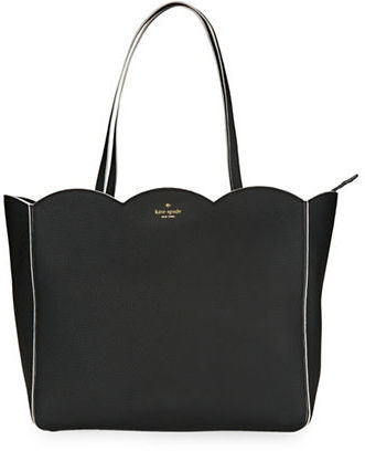 Kate Spade Kate Spade New York Rainn Scalloped Leather Tote