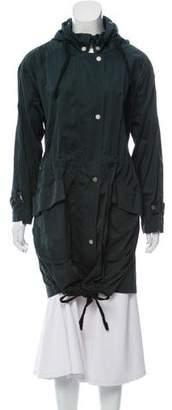 Maison Margiela Lightweight Zip-Up Coat