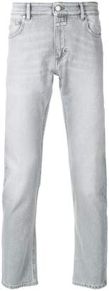 Closed distressed regular-fit jeans