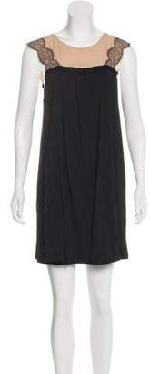 3.1 Phillip Lim Silk Lace-Trimmed Dress