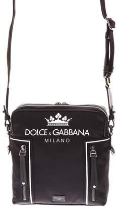 Dolce & Gabbana Milano Black Fabric Bag