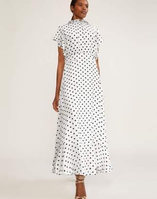 Cynthia Rowley Talia Polka Dot Dress