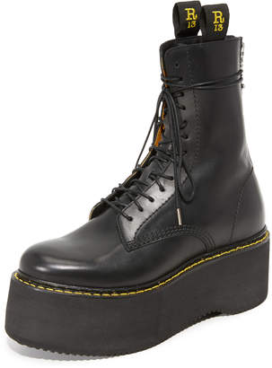 R 13 Combat Stack Boots