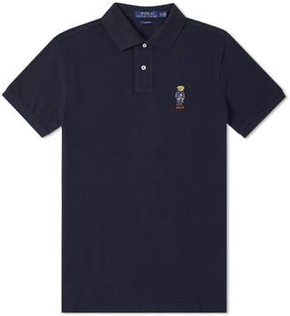 Polo Ralph Lauren Bear Embroidery Polo