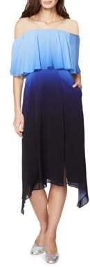 Rachel Roy Ombre Popover Dress