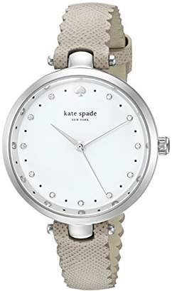 Kate Spade Women's 'Holland' Quartz Stainless Steel and Leather Casual Watch