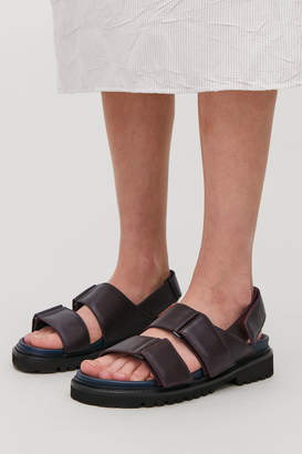 Cos CHUNKY LEATHER SANDALS