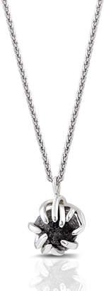 Black Diamond Enji Studio Jewelry 14k Gold & Caris Pendant