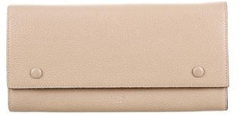 Céline Large Multifunction Flap Wallet