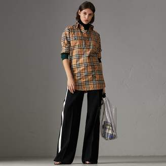 Burberry Postcard Print Vintage Check Tunic Shirt