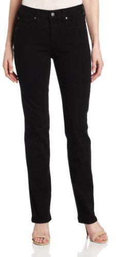 Miraclebody Jeans Miracle Body Katie Straight Jean, Licorice Black