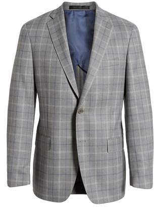 Hart Schaffner Marx Classic Fit Plaid Wool Sport Coat