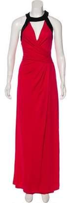 Halston Velvet Maxi Dress