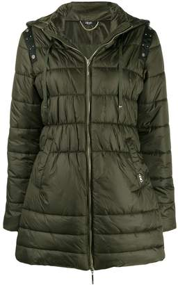 Liu Jo studded detail padded jacket