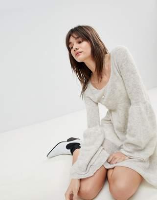 Free People Juliet Alpaca Wool Blend Mini Dress