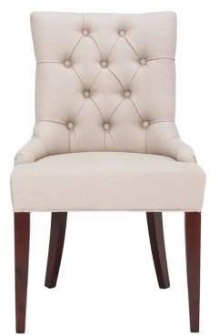 Safavieh Amanda Nail Heads Tufted Chair