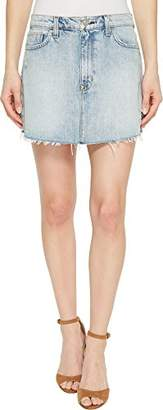 Hudson Jeans Women's Vivid Denim Mini Skirt