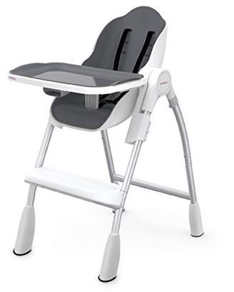 Oribel Folding Reclining Highchair, Slate