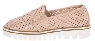 Baldinini Leather Slip-On Sneakers