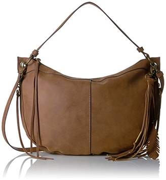 T-Shirt & Jeans Scoop Hobo with Tassel