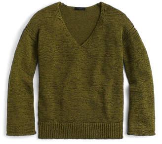 J.Crew J. Crew Flare Sleeve Swing Sweater