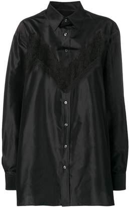 Maison Margiela buttoned lace shirt