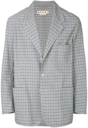 Marni checkered blazer