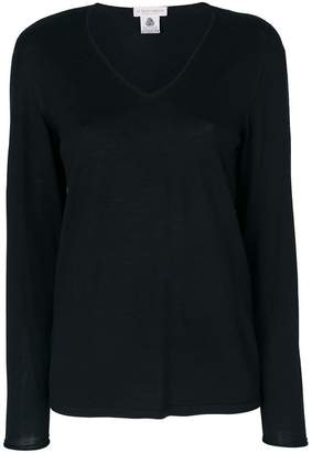 Le Tricot Perugia scoop neck top