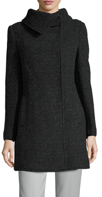 Cole Haan Wool Midi Coat