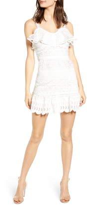 J.o.a. Lace Mix Cotton Sundress