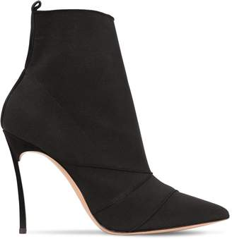 Casadei 100MM BLADE LYCRA ANKLE BOOTS