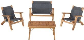 Linon 4-piece Rosemary Kids Outdoor Set