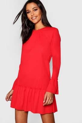 f0db40ec9c3b Red Ruffle Hem Day Dresses - ShopStyle UK