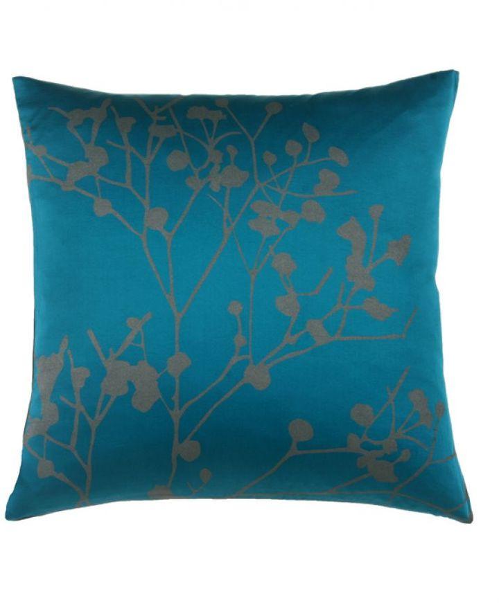 Blissliving Home Tamara Peacock Pillow