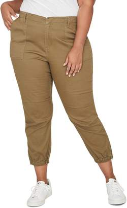 Rachel Roy Army Crop Military Pants