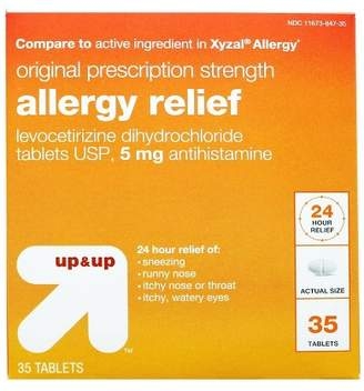 Up&Up Levocetirizine Allergy Relief Tablets - 35ct - Up&Up