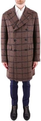 Tagliatore Virgin Wool Blend Coat