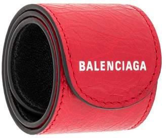 Balenciaga logo print bracelet